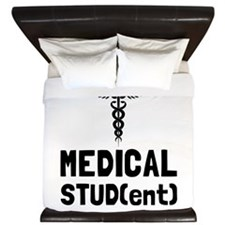 Medical Student King Duvet