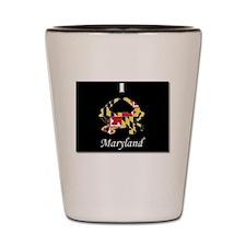 Maryland Love Shot Glass
