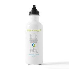 Game changed w logo Water Bottle