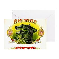 Big Wolf Greeting Card
