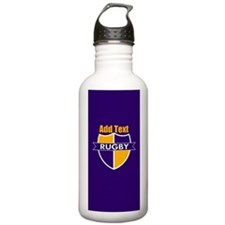 Rugby Emblem Purple Go Water Bottle