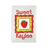 Sweet Kaylee Rectangle Magnet