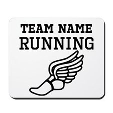 (Team Name) Running Mousepad