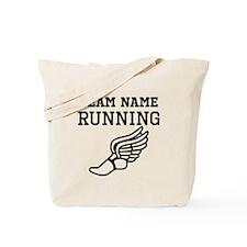 (Team Name) Running Tote Bag