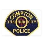 Compton CA Police Postcards (Package of 8)
