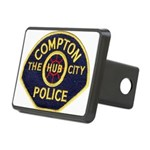 Compton CA Police Rectangular Hitch Cover