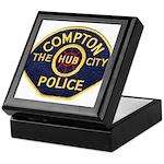 Compton CA Police Keepsake Box