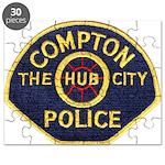 Compton CA Police Puzzle