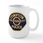 Compton CA Police Large Mug