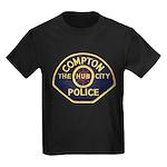 Compton CA Police Kids Dark T-Shirt