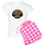 Compton CA Police Women's Light Pajamas