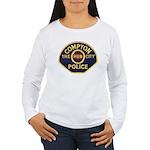 Compton CA Police Women's Long Sleeve T-Shirt