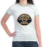 Compton CA Police Jr. Ringer T-Shirt