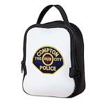 Compton CA Police Neoprene Lunch Bag