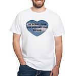 Heart, Mind & Soul White T-Shirt