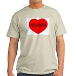 I Love My Pastor Ash Grey T-Shirt