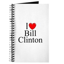"""I Love (Heart) Bill Clinton"" Journal"