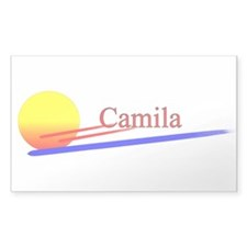 Camila Rectangle Decal