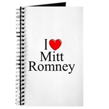 """I Love (Heart) Mitt Romney"" Journal"