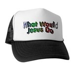 What Would Jesus Do Trucker Hat