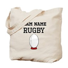 (Team Name) Rugby Tote Bag