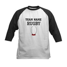 (Team Name) Rugby Baseball Jersey