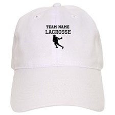(Team Name) Lacrosse Baseball Cap
