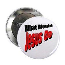 "What Would Jesus Do 2.25"" Button (100 pack)"