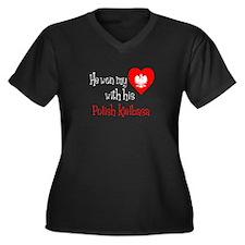 Won My Heart Polish Kielbasa Plus Size T-Shirt