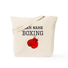 (Team Name) Boxing Tote Bag
