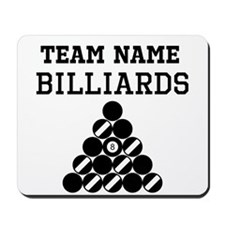(Team Name) Billiards Mousepad