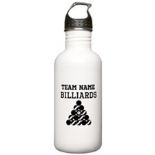 (Team Name) Billiards Sports Water Bottle
