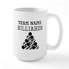 (Team Name) Billiards Mugs
