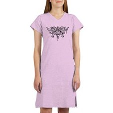 Cute Scales of justice Women's Nightshirt