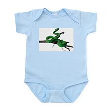 Green Tree Python Infant Bodysuit