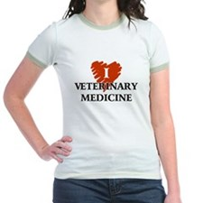 I Love Veterinary Medicine T