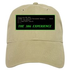 The 386 Experience Text Logo Baseball Cap