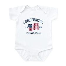 Patriotic Chiropractic Infant Bodysuit