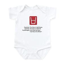 Psychologist Glass Infant Bodysuit