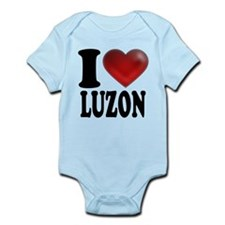 I Heart Luzon Body Suit