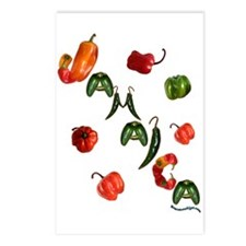 Jamaica Chilis Postcards (Package of 8)