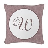 Monogram Woven Pillows