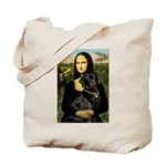 Mona's Black Lab Tote Bag