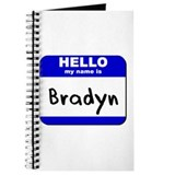 hello my name is bradyn Journal