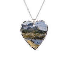 Mt Baker Washington State Necklace