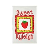 Sweet Kyleigh Rectangle Magnet