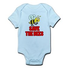 Save The Bees Kid Body Suit