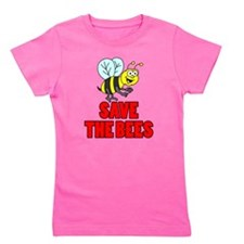 Save The Bees Kid Girl's Tee