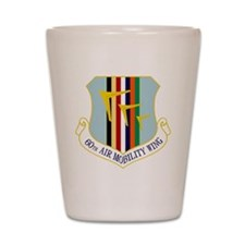 60th Air Mobility Wing Shot Glass