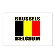 Brussels, Belgium Postcards (Package of 8)